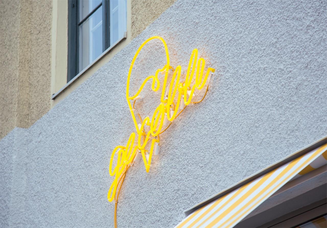 Studio Nüe Gecobli Gelateria – Logo Design