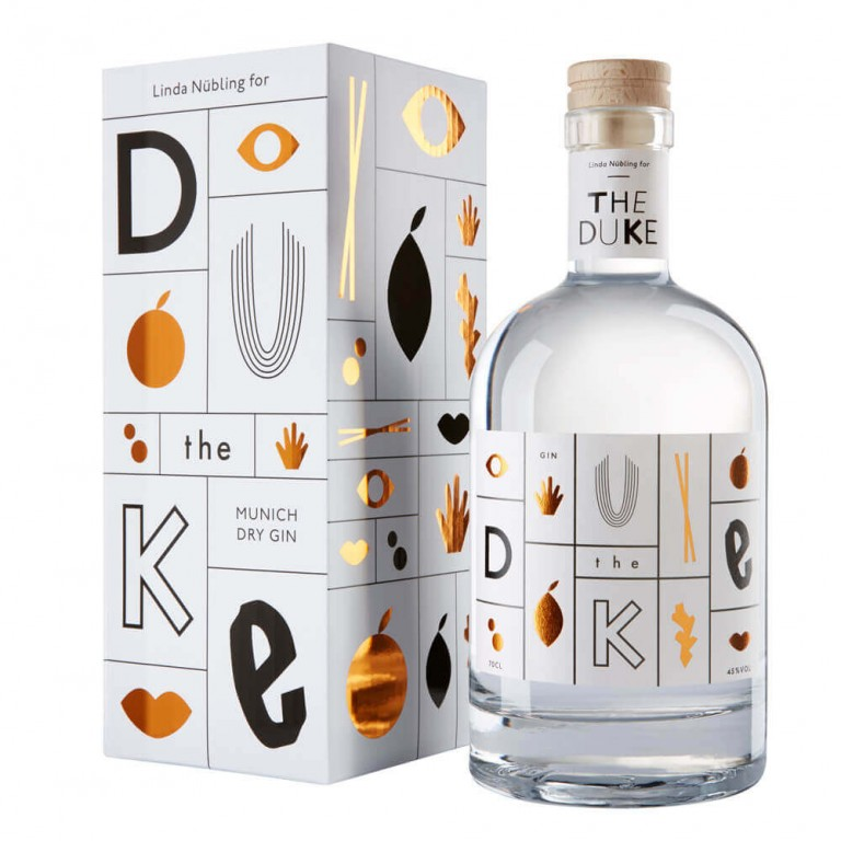 Studio Nüe THE DUKE Gin – Art edition
