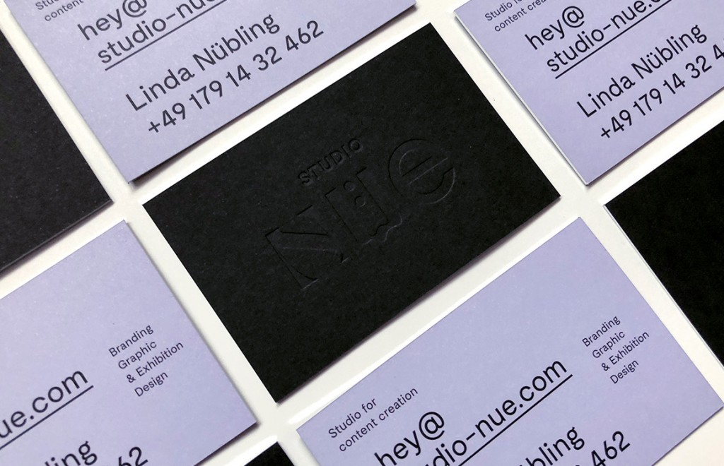 Studio Nüe Studio Nüe – business card