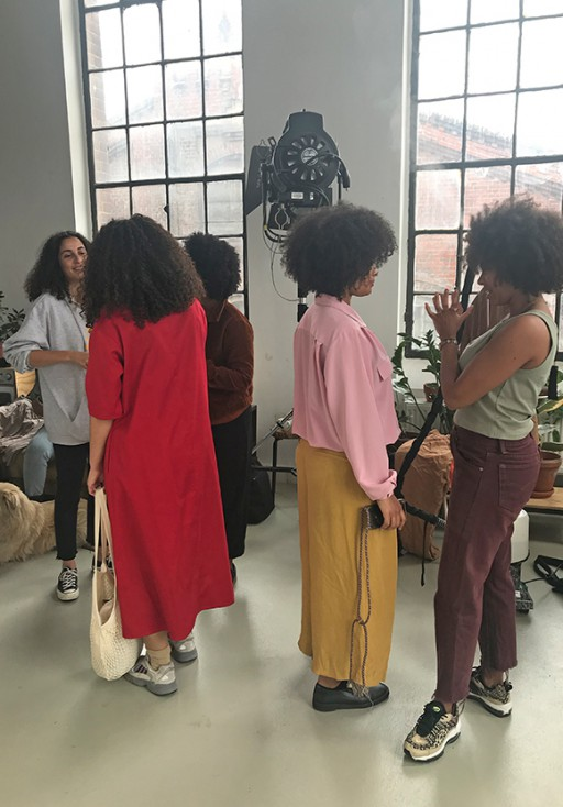 Studio Nüe GURLZ WITH CURLZ – Berlin